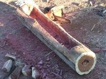 Log Planter 002