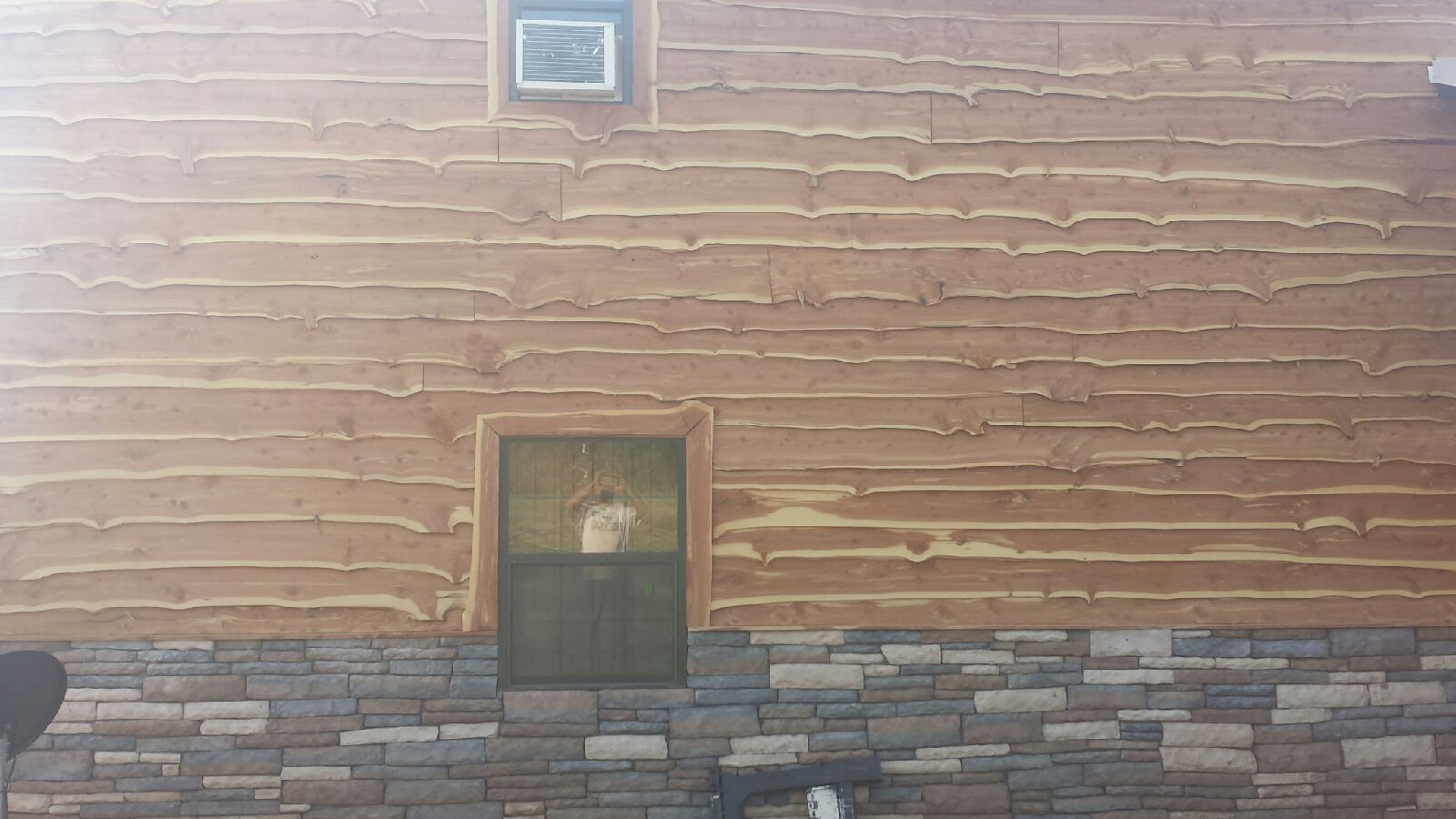 Live Edge Cedar Siding Wild West Creations
