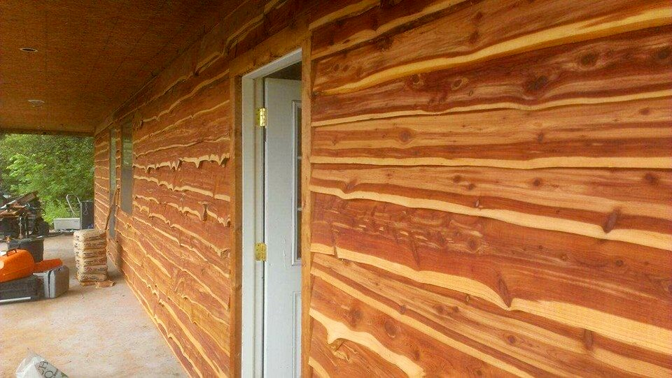 Cedar Bevel Siding Price Per Ft Quot Live Edge Cedar Siding