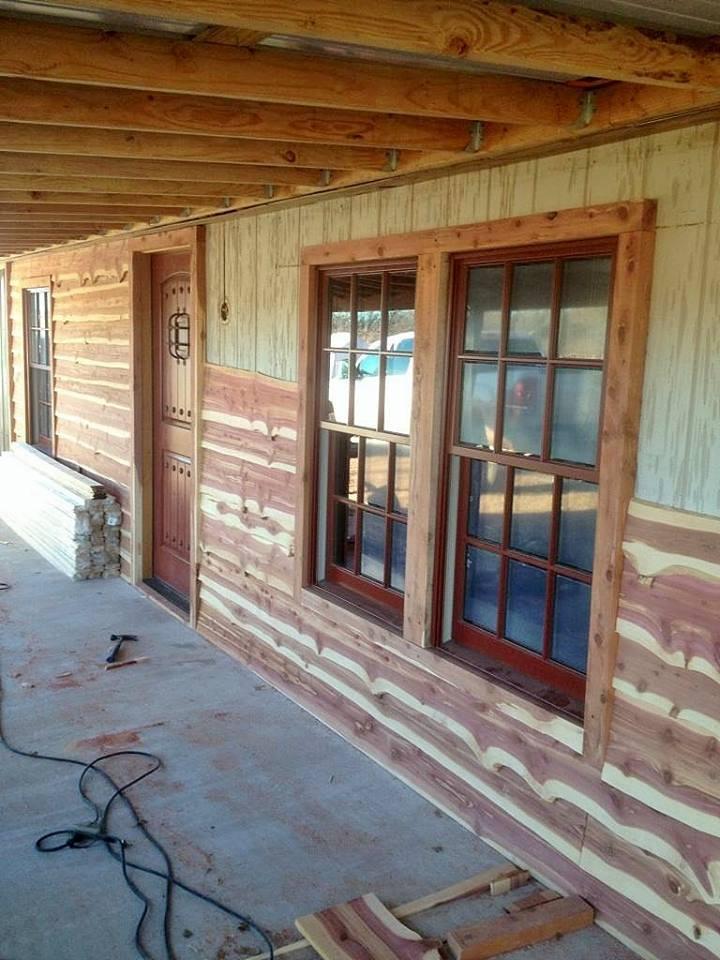 Live Edge Cedar Siding Wild West Creations